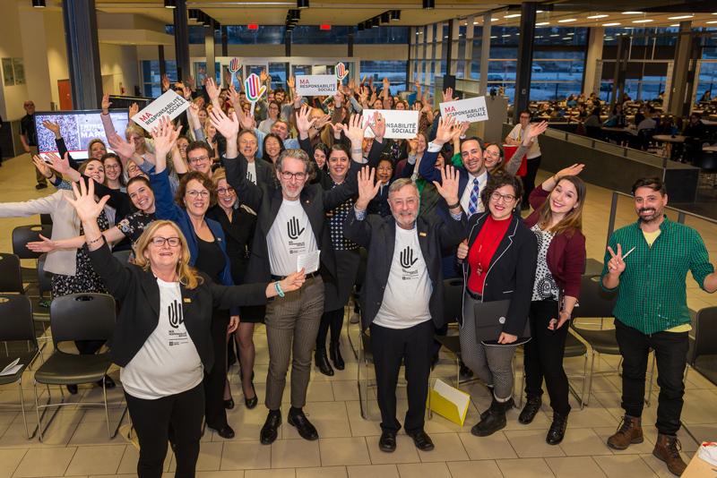 Cocktail - Semaine de la responsabilité sociale 2019 Faculté de médecine Université Laval