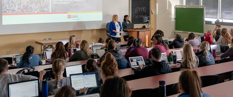 Culture philanthropique - Semaine de la responsabilité sociale 2019 Faculté de médecine Université Laval