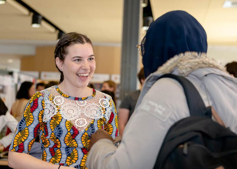 Kiosque santé mondiale - Semaine de la responsabilité sociale 2019 Faculté de médecine Université Laval