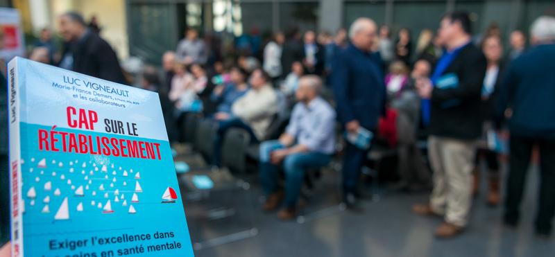 Lancement livre Cap sur le rétablissement - Semaine de la responsabilité sociale 2019 Faculté de médecine Université Laval