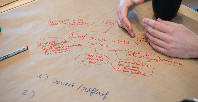 World Café - Semaine de la responsabilité sociale 2019 Faculté de médecine Université Laval