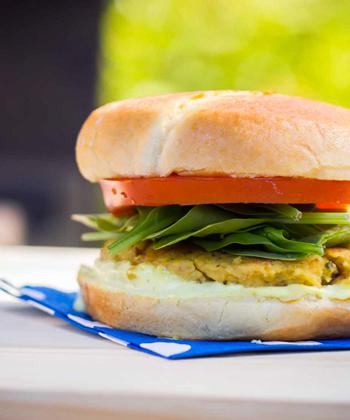 Hamburger végétarien - Ateliers culinaires thématiques