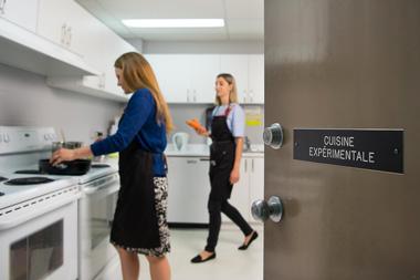 la cuisine expérimentale de la Clinique Équilibre Santé