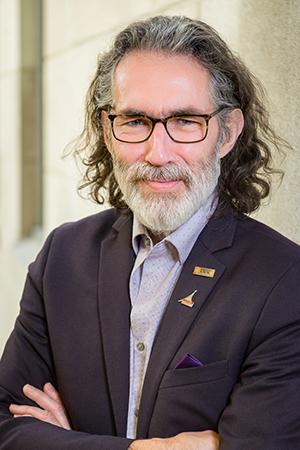Julien Poitras, candidat au poste de doyen de la Faculté de médecine