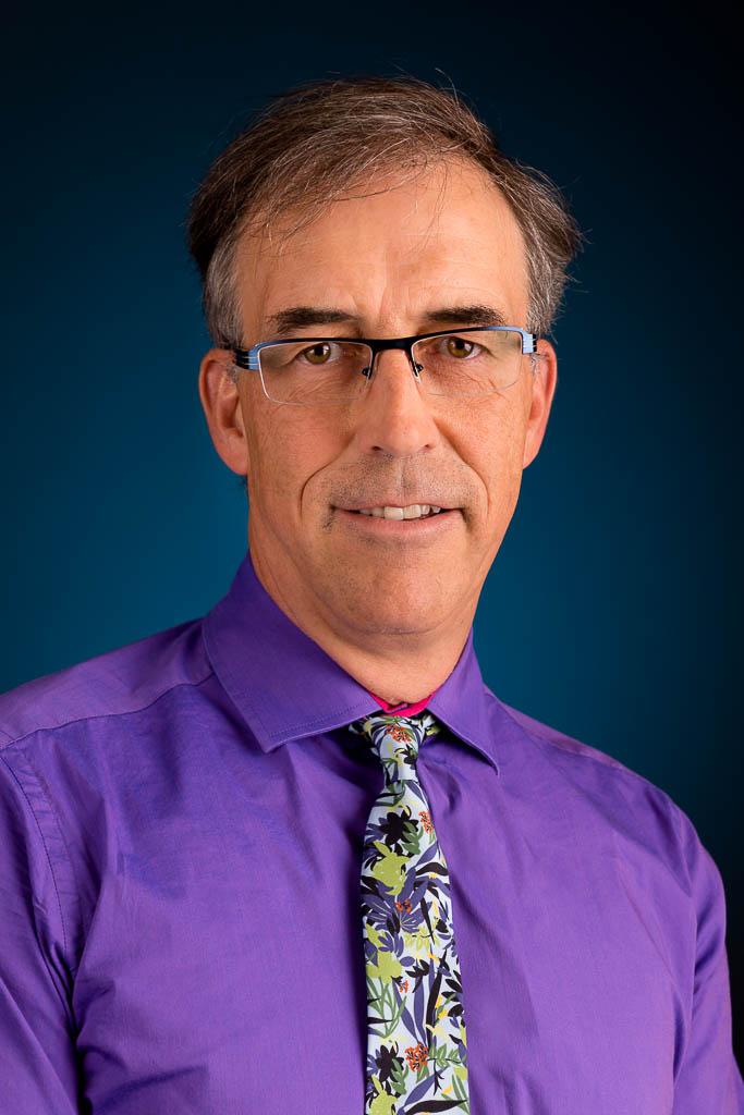 Louis Lacombe, directeur du Département de chirurgie