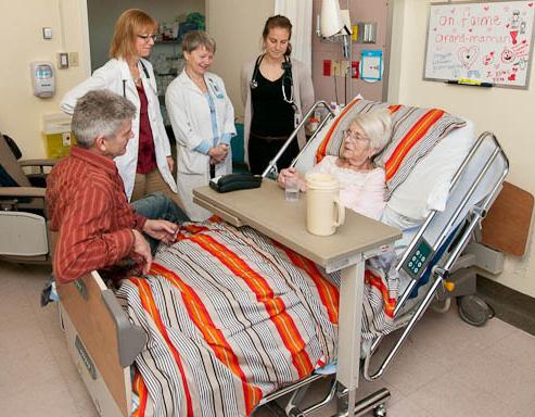 Soins palliatifs, Département de médecine familiale et de médecine d'urgence, Faculté de médecine de l'Université Laval