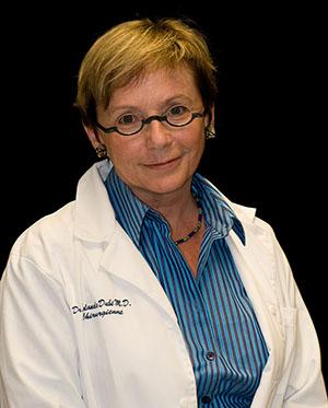 Yolande Dubé, directrice du Département d'ophtalmologie et ORL - chirurgie cervico-faciale