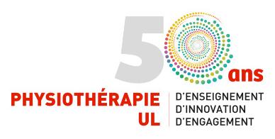 50 ans physiothérapie UL