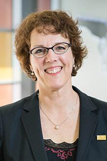 Hélène Moffet, directrice du Département de réadaptation