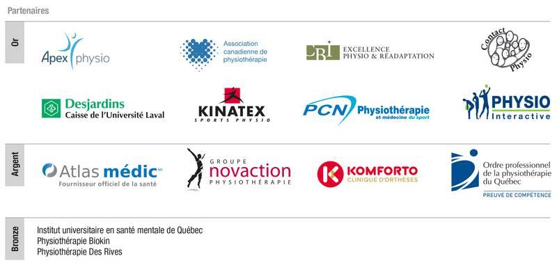 logos des partenaires du 50e