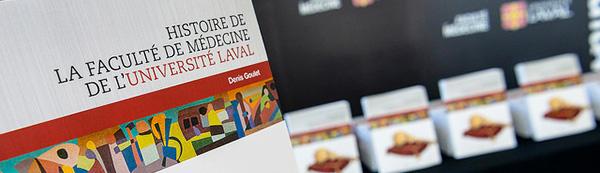 couverture livre histoire de la Faculté de médecine UL