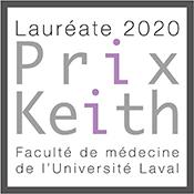 Prix Keith 2020 Faculté de médecine Université Laval