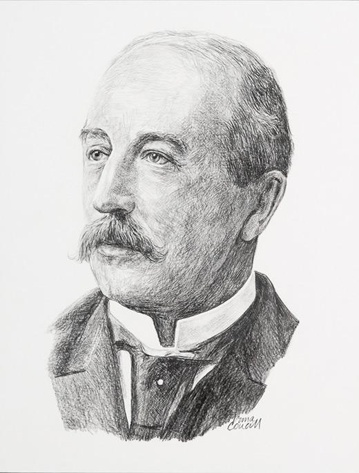Portrait du Dr Frederick Montizambert