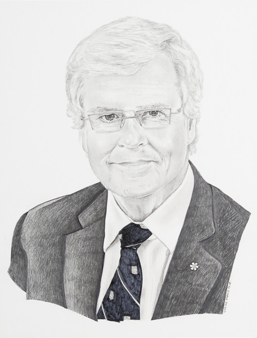 Portrait de Michel G. Bergeron