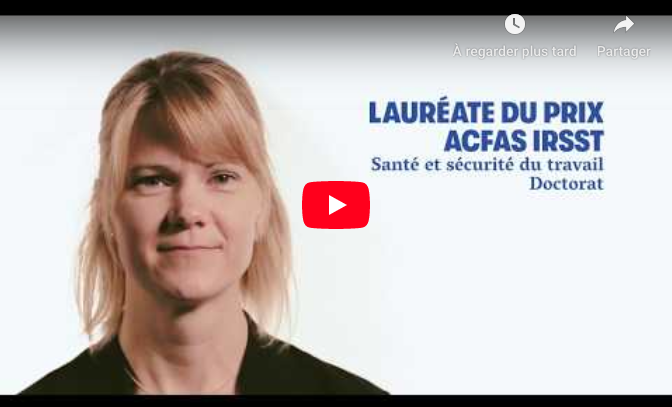 Vidéo ACFAS Caroline Duchaine