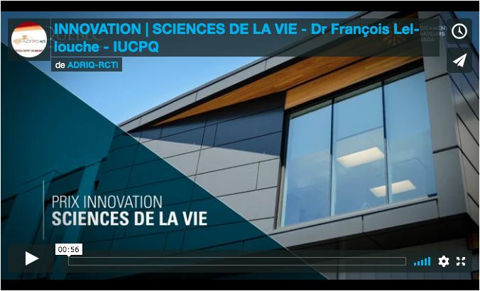 Youtube prix innovation sciences de la vie