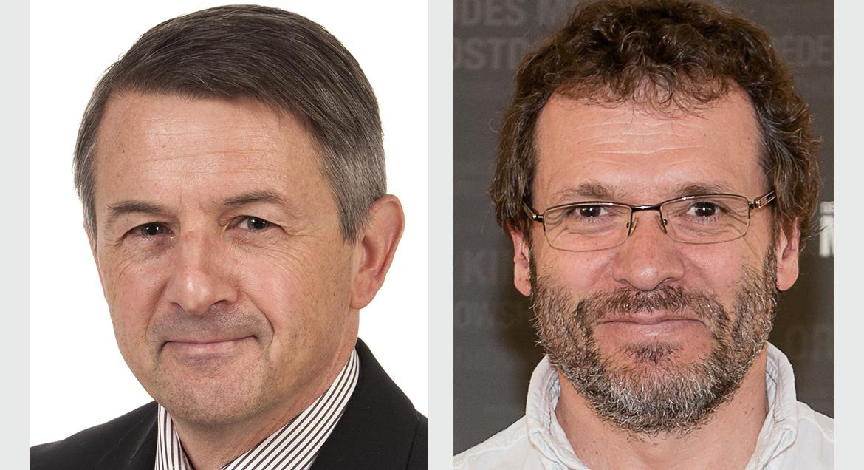 Guy Boivin et Jacques Côté