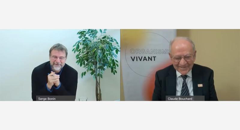 Serge Bonin et Claude Bouchard