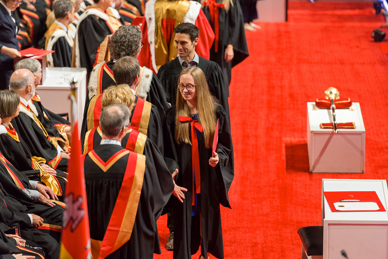 Collation des grades 2018 Faculté de médecine Université Laval