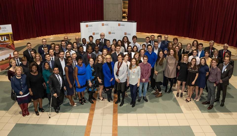lauréats et lauréates bourses de leadership et de développement durable 2018 université laval