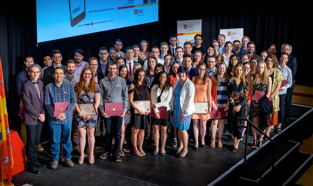 Cérémonie d'excellence 2018 Faculté de médecine Université Laval