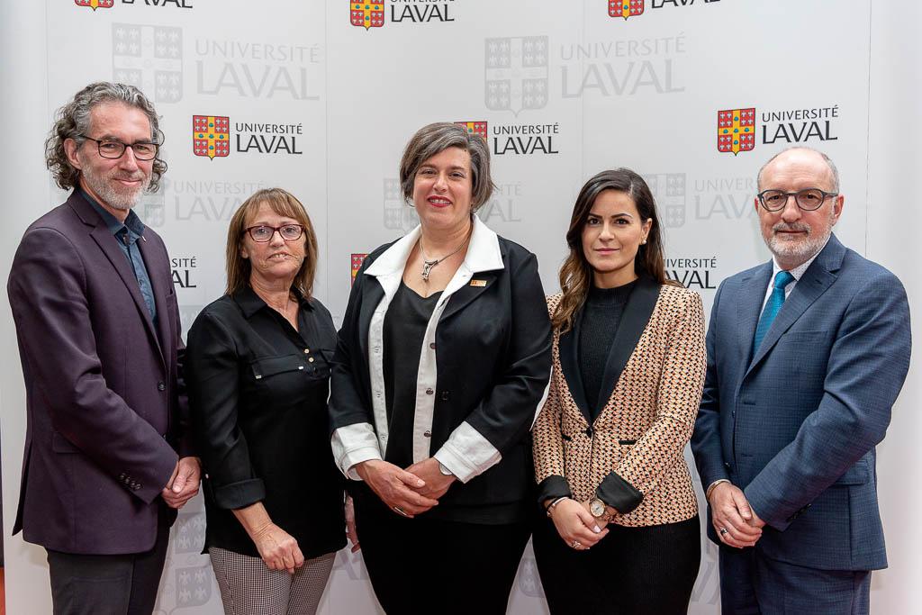 Lancement CLE en douleur chronique Faculté de médecine Université Laval
