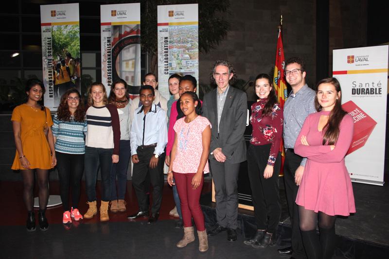 étudiants visiteurs Faculté de médecine Université Laval