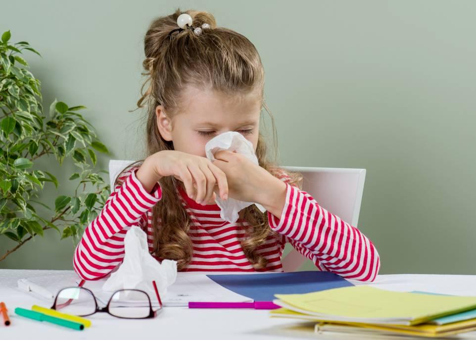 Grippe : les enfants davantage frappés cette année