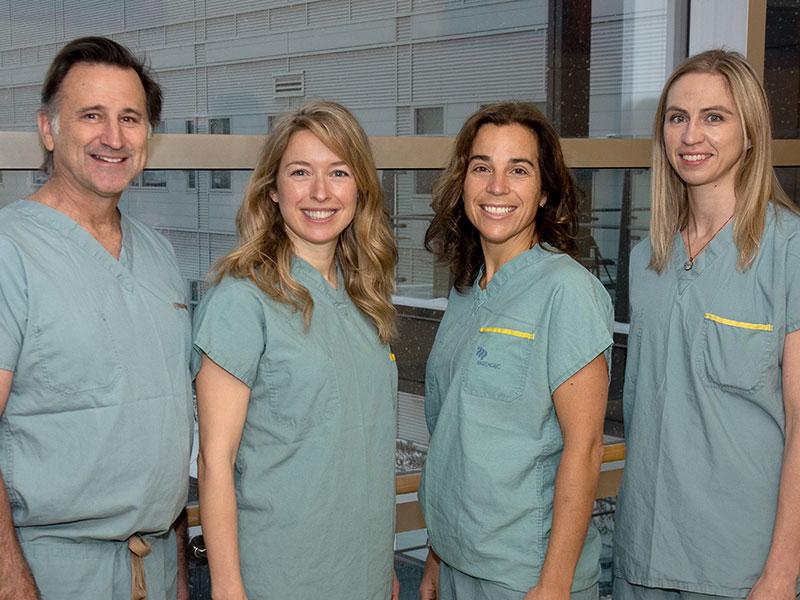 Équipe fellowship chirurgie endoscopique gynécologique avancée Faculté de médecine Université Laval